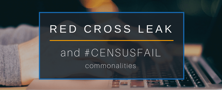 Red cross leak and census fail in common
