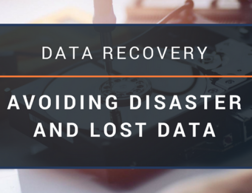 Data Recovery: Avoiding Disaster and Lost Data